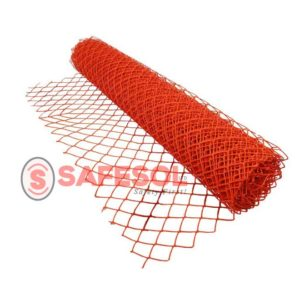 Safety-barrier-fence
