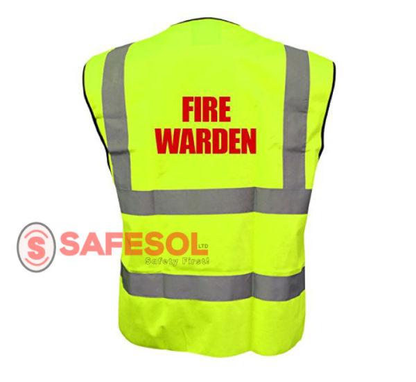 Branded reflective vest